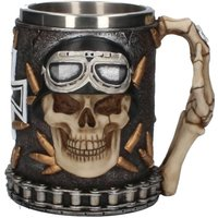 Iron Cross Skull Tankard