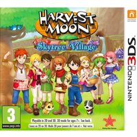 Harvest Moon Skytree Village 3DS Game