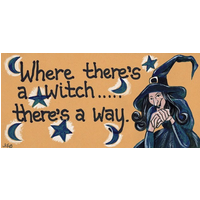 Where There's A Witch There's A Way Pack Of 12