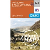 Sanquhar and New Cumnock by Ordnance Survey (Sheet map, folded, 2015)