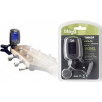 Stagg Automatic Chromatic Clip On Tuner