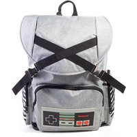 Nintendo - Nes Controller Unisex Backpack Backpack - Grey/Black