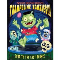 Trampoline Zombies Card Game