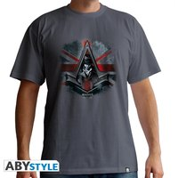 Assassin's Creed - Jacob Un. Jack Men's Medium T-Shirt - Grey