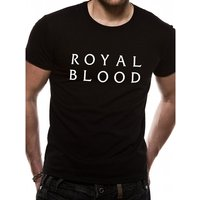 Royal Blood - Stacked Logo Men's X-Large T-Shirt - Black