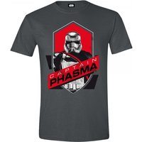Star Wars VII Mens The Force Awakens Captain Phasma Shield XX-Large T-Shirt