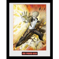 One Punch Man Genos Framed Collector Print
