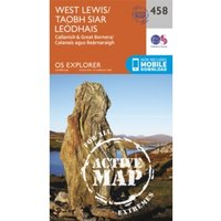 West Lewis/Taobh Siar Leodhais by Ordnance Survey (Sheet map, folded, 2015)