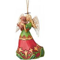 Angel Holding Puppy Hanging Ornament