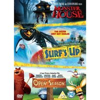 Monster House / Surfs Up / Open Season DVD