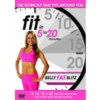 'Fit In 5 To 20 Minutes - Belly Fat Blitz Dvd
