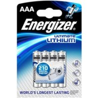 Energizer L92 Ultimate Lithium Battery AAA Size 4 Pack