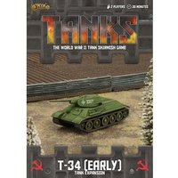 TANKS: Soviet T-34 (Early) Expansion Board Game