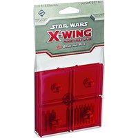 Star Wars X-wing Bases and Pegs Accessory Pack - Red
