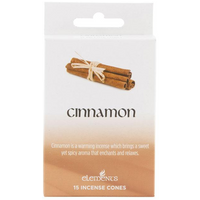 12 Packs of Elements Cinnamon Incense Cones