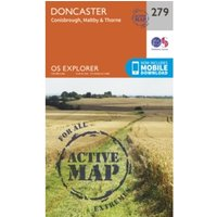 Doncaster, Conisbrough, Maltby and Thorne by Ordnance Survey (Sheet map, folded, 2015)