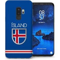 CASEFLEX SAMSUNG GALAXY S9 PLUS ICELAND WORLD CUP CASE / COVER (3D)