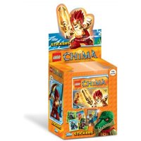 Lego Chima Stickers (50 Packs)