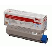 OKI 43872307 Toner cyan, 2K pages @ 5% coverage
