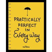 Mary Poppins - Practically Perfect Framed 30 x 40cm Print