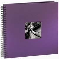 Fine Art Spiralbound Album 36 x 32cm 50 black pages Purple