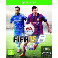 FIFA 15 Xbox One Game (with 15 FUT Gold Packs)