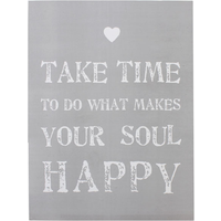 Take Time Wall Plaque