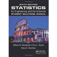 Statistics for Engineering and the Sciences : Student Solutions Manual