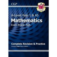 New A-Level Maths for AQA: Year 1 & AS Complete Revision & Practice with Online Edition