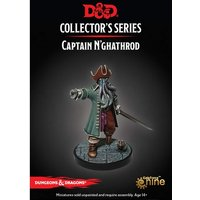 Dungeons & Dragons Collector's Series Dungeon of the Mad Mage Miniature Captain N'Gathrod