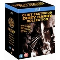 Dirty Harry Collection Box Set 5 Disc Blu-Ray (Region Free)