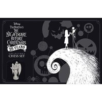 The Nightmare Before Christmas 25 Years Chess Set Board Game
