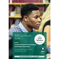 Aat Bookkeeping Transactions : Question Bank