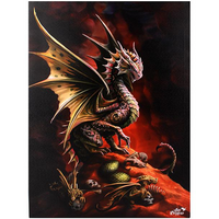 Large Desert Dragon Canvas Picture by Anne Stokes