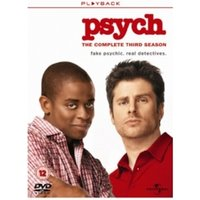Psych Season 3 DVD