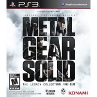 Metal Gear Solid The Legacy Collection Solus Game PS3 (#)
