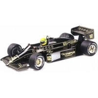 Minichamps 1:43 Scale 1985 Lotus Renault 97T Aryton Senna Die Cast Model