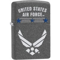 Zippo United States Air Force logo Iron Stone Lighter