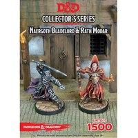 Dungeons & Dragons Collector's Series Rise of Tiamat Miniature Naergoth Bladelord & Rath Modar