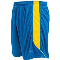 Precision Real Shorts 26-28 inch Royal/Yellow