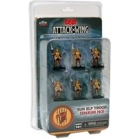 Dungeons & Dragons Attack Wing Wave 1 Sun Elf Guard Troop Expansion Pack