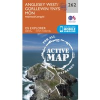 Anglesey West by Ordnance Survey (Sheet map, folded, 2015)
