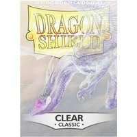 Dragon Shield Classic - Clear 100 Sleeves (10 Packs)