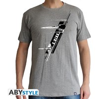 Star Wars - X-Wing Resistance Men's X-Large T-Shirt - Grey
