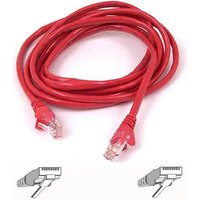 Belkin 2m Cat5e Snagless UTP Patch Cable (Red)