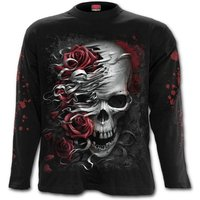 Skulls N' Roses Men's XX-Large Long Sleeved T-Shirt - White
