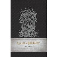 Iron Throne (Game of Thrones) Hardcover Ruled Journal