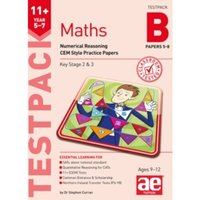 11+ Maths Year 5-7 Testpack B Papers 5-8: Numerical Reasoning CEM Style Practice Papers by Stephen C. Curran (Paperback,...
