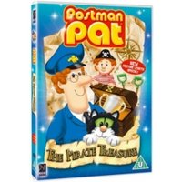 Postman Pat And The Pirate Tresure DVD