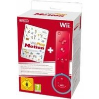 Play Motion Game + Red MotionPlus Remote Wii & Wii U (Bagged)